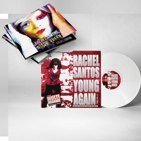 Rachel Santos - Disco Queen + Vinyl White Mxi (Pre Order) On Sale March 26